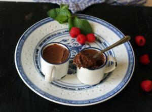 Crème craque heerlijk chocolade toetje van Dorien Deckers