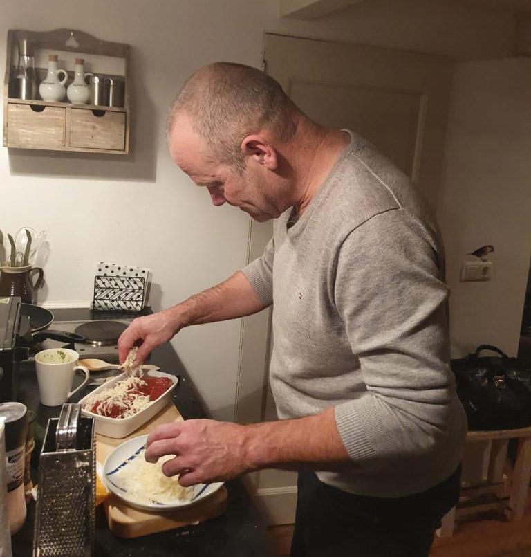 Martin Boomkens kookt zelf ook graag