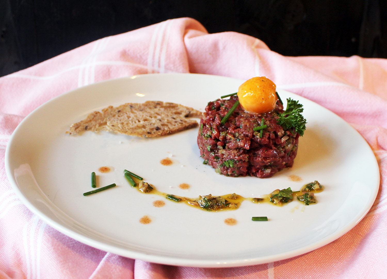 Steak tartare lievelingsgerecht van Jan Heemskerk