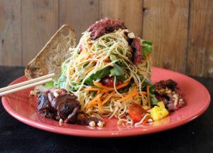 Thai steak and noodle salad van Jan Westmaas