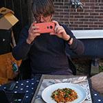 Jan vindt deze ovenschotel kleurrijk en fotogeniek