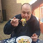 Marcel is pasta-verslaafd