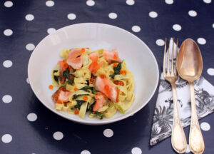 Pasta met zalm en room Maureen Delicious