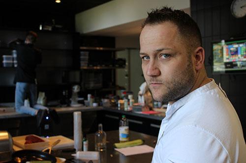 Robert Poel, chefkok restaurant Voltaire in Parc Broekhuizen small